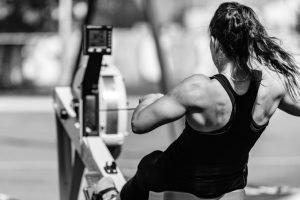 Rowing ERG Workout Alaia physio