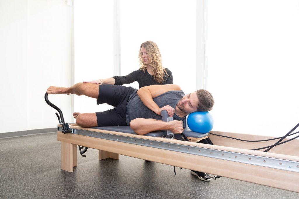 Rehabilitative Pilates runners Exercise